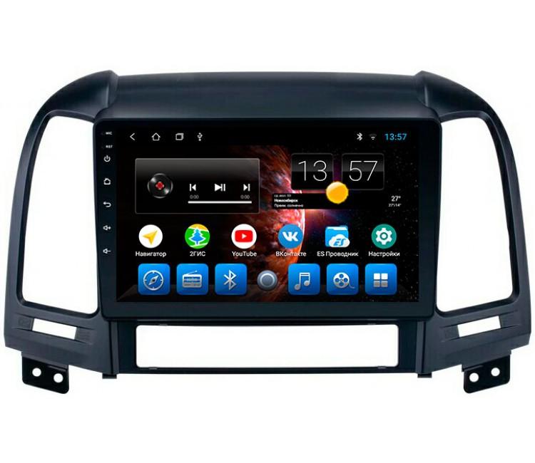 Штатная мультимедийная система на OS Android 8.0.1 для Hyundai SantaFe II
