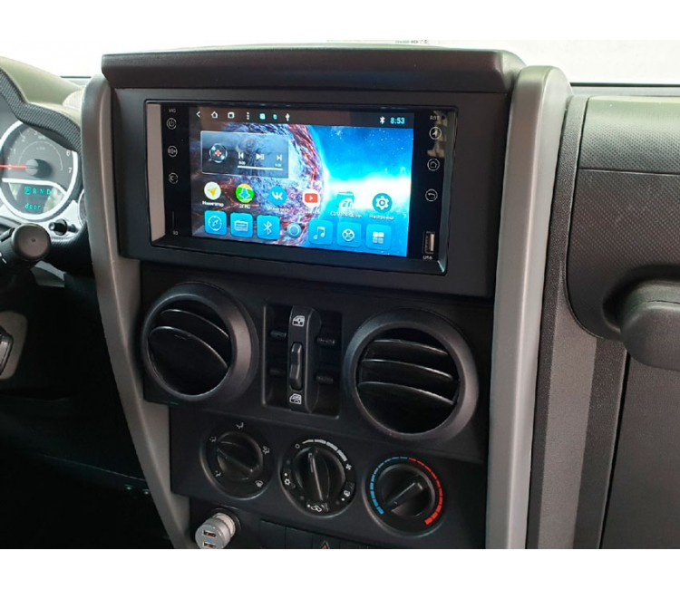 Штатная мультимедийная система для Jeep, Chrysler, Dodge на OS Android 8.0.1