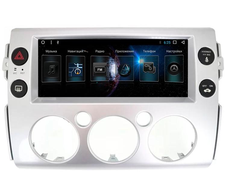 Штатная мультимедийная система для Toyota FJ Cruiser на OS Android 9.0.1