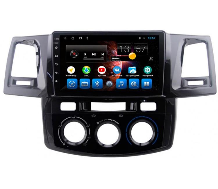 Штатное головное устройство на OS Android 9.0.1 для Toyota Hilux, Toyota Fortuner