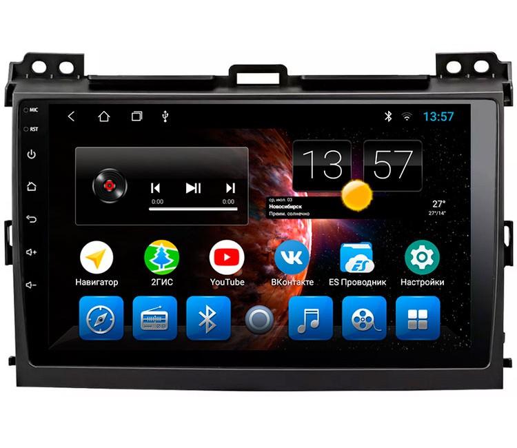 Штатная магнитола для Toyota Land Cruiser Prado 120 на OS Android 8.0.1