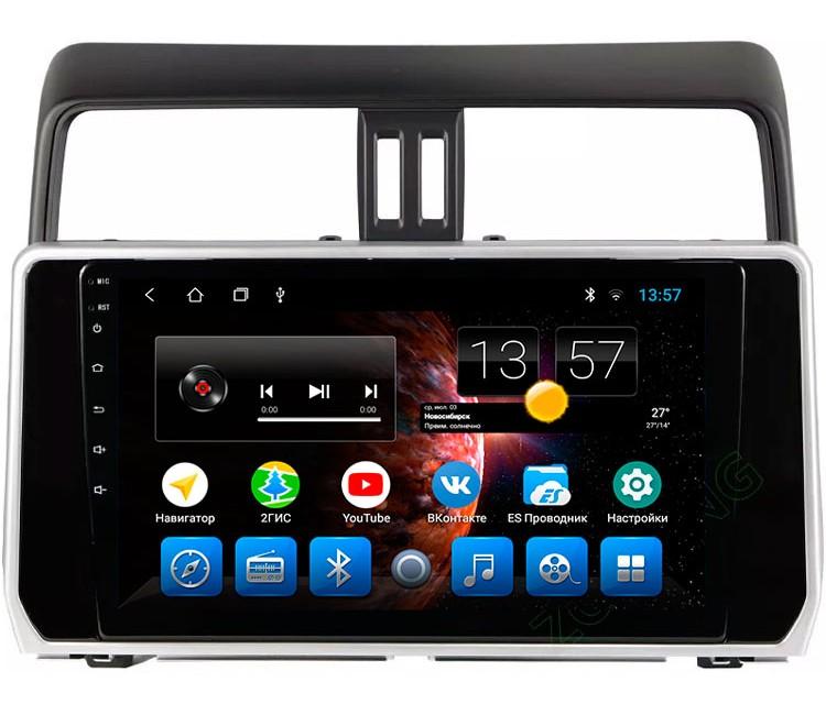 Штатная мультимедийная система для Toyota LC Prado 150 на OS Android 8.0.1