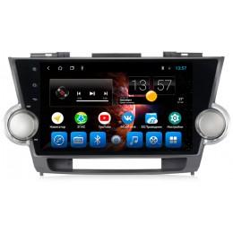"""Штатное головное устройство для Toyota Highlander XU40 Экран 10,1"""""""