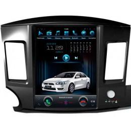 """Штатное головное устройство для Mitsubishi Lancer X Экран 12,1"""""""