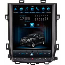 """Штатное головное устройство для Toyota Alphard H20 Экран 12,1"""""""