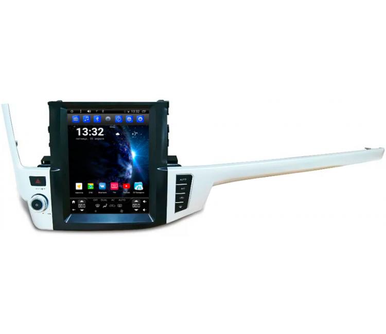 Штатное головное устройство для Toyota Highlander U50 на OS Android 6.0.1