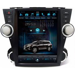 """Штатное головное устройство для Toyota Highlander XU40 2007-2013 Экран 12,1"""""""
