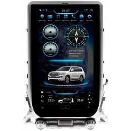 """Штатное головное устройство для Toyota LC 200 2015-2020 Экран 13,6"""" (Полная комплектация)"""