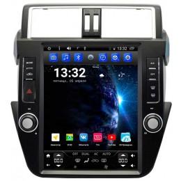 """Штатное головное устройство для Toyota LC Prado 150 2013-2017 Экран 12,1"""""""