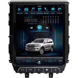 """Штатное головное устройство для Toyota LC 200 2015-2020 Экран 12,1"""""""