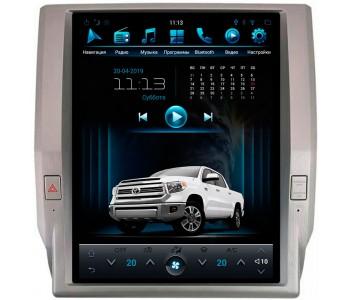 """Штатное головное устройство для Toyota Tundra III Экран 12,1"""""""