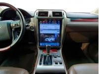 Штатная мультимедийная система в стиле Tesla для Lexus GX460 на OS Android 9.0.1, Super Audio