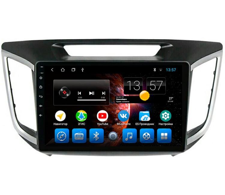 Штатная мультимедийная система для Hyundai Сreta на OS Android 8.0.1
