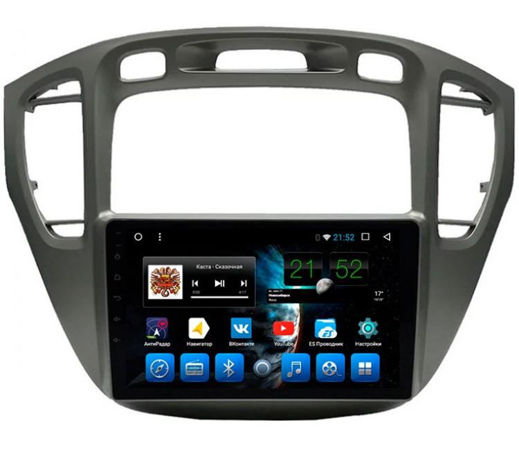 Штатная мультимедийная система на OS Android 8.0.1 для Toyota Highlander XU30