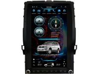 Штатная мультимедийная система в стиле Тесла для Toyota LC Prado 120 на OS Android 9.0.1