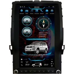 """Штатное головное устройство для Toyota LC Prado 120 Экран 13,6"""""""