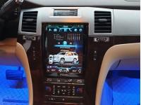 Штатная мультимедийная система в стиле Tesla для Cadillac Escalade на OS Android 8.0.1