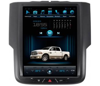 """Штатное головное устройство для Dodge Ram 2013-2018 Экран 10,4"""""""