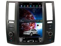 Штатная мультимедийная система в стиле Tesla на OS Android 9.0.1 для Infiniti FX S50