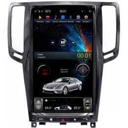 """Штатное головное устройство для Infiniti G35, G37 Экран 13,6"""""""