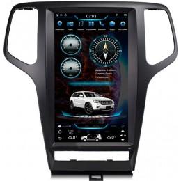 "Штатное головное устройство для Jeep Grand Cherokee 2010-2013 Экран 13,6"""