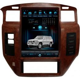 """Штатное головное устройство для Nissan Patrol Y61 Экран 12,1"""""""