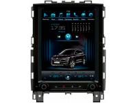 Штатная мультимедийная система в стиле Тесла для Renault Koleos на OS Android 9.0.1