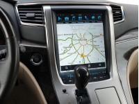 Штатная мультимедийная система в стиле Тесла на OS Android 8.0.1 для Toyota Alphard H20
