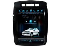 Штатная мультимедийная система Super Audio в стиле Тесла для Volkswagen Touareg на OS Android 9.0.1