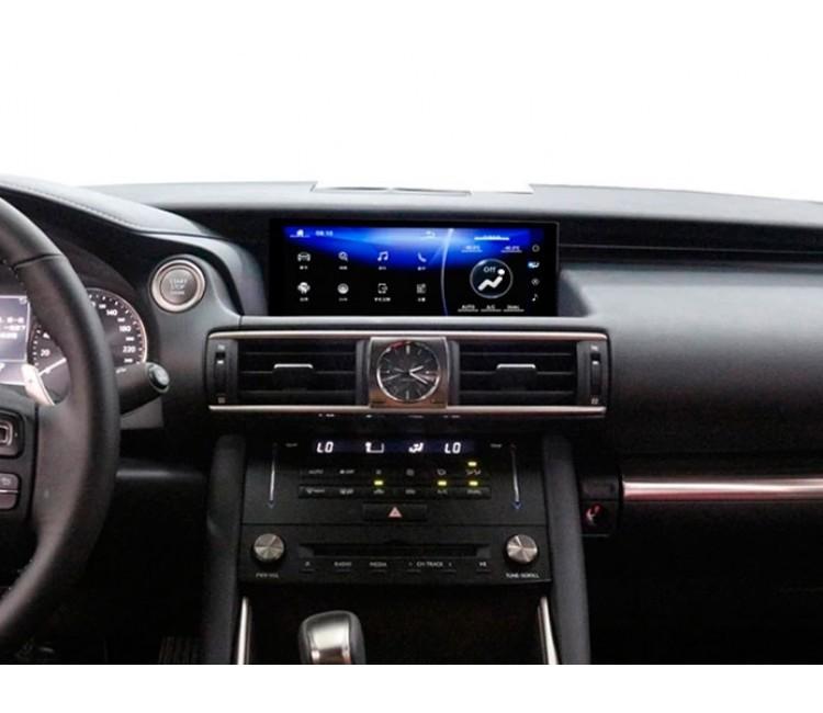 Штатная мультимедийная система для Lexus IS на OS Android 9.0.1