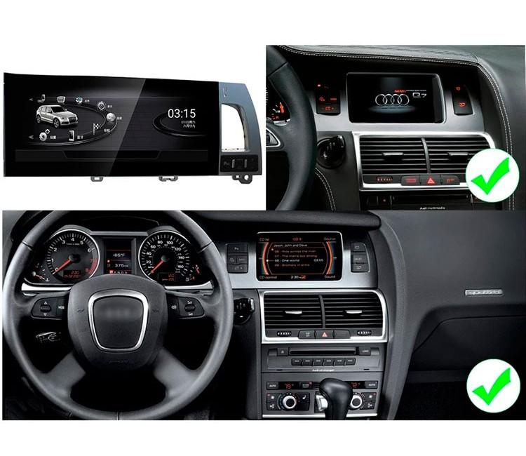 Штатная мультимедийная система для Audi Q7 на OS Android 8.0.1