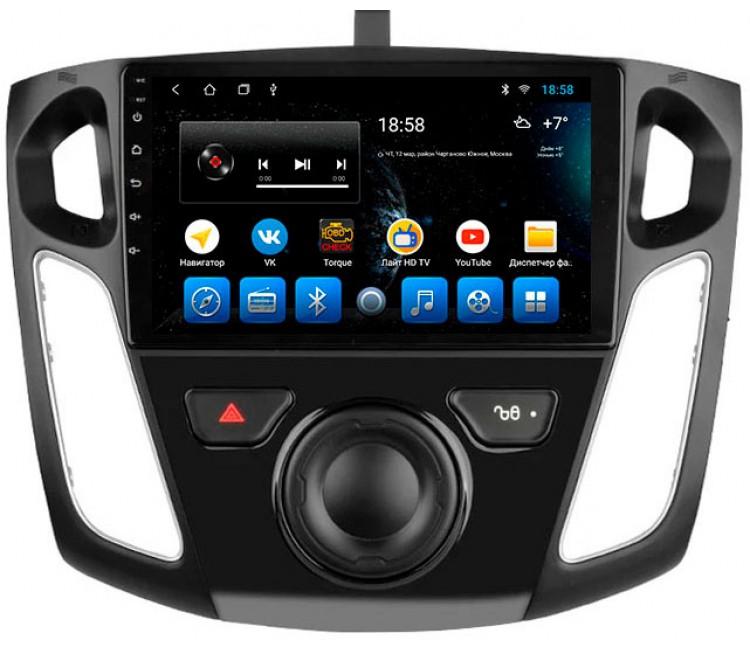 Штатное головное устройство для Ford Focus III на OS Android 8.0.1