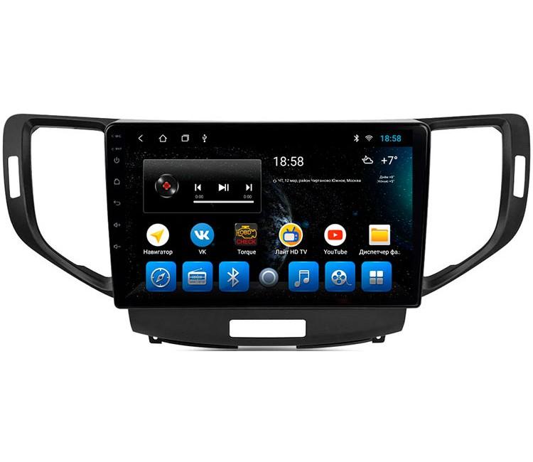 Штатная мультимедийная система на OS Android 8.0.1 для Honda Accord VIII CU1, CU2