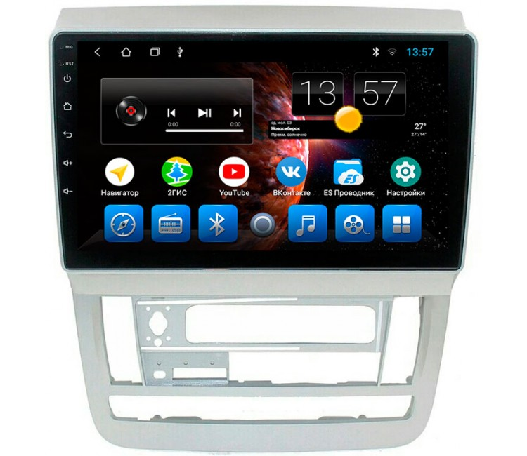 Штатная мультимедийная система на OS Android 8.0.1 для Toyota Alphard H10