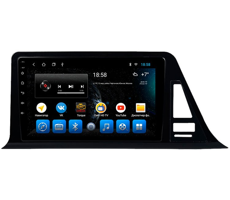 Штатная мультимедийная система на OS Android 8.0.1 для Toyota C-HR