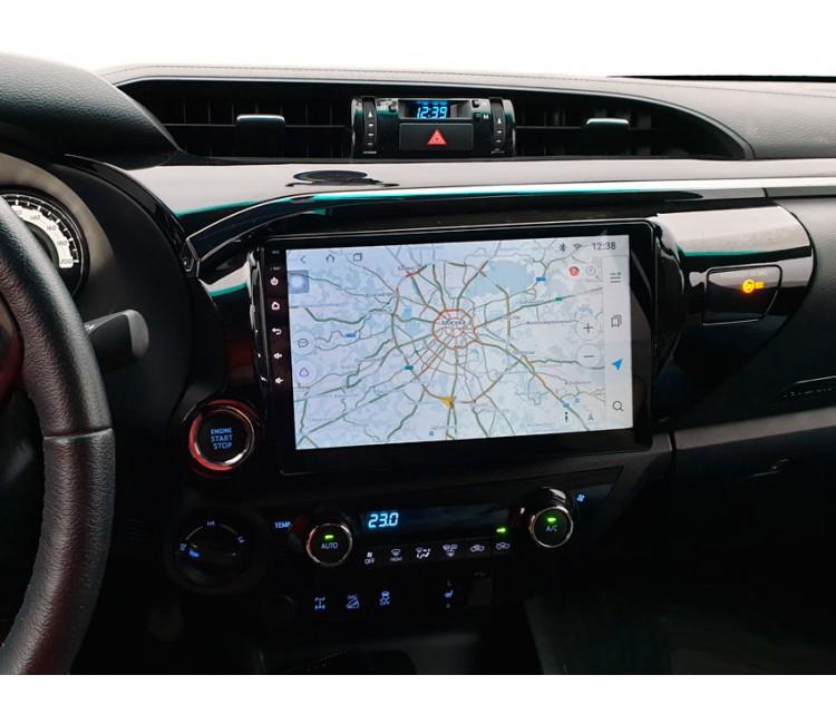 Штатная мультимедийная система на OS Android 8.0.1 для Toyota Hilux