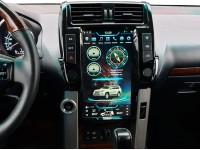 Штатная мультимедийная система Super Audio в стиле Tesla для Toyota Prado 150 2010
