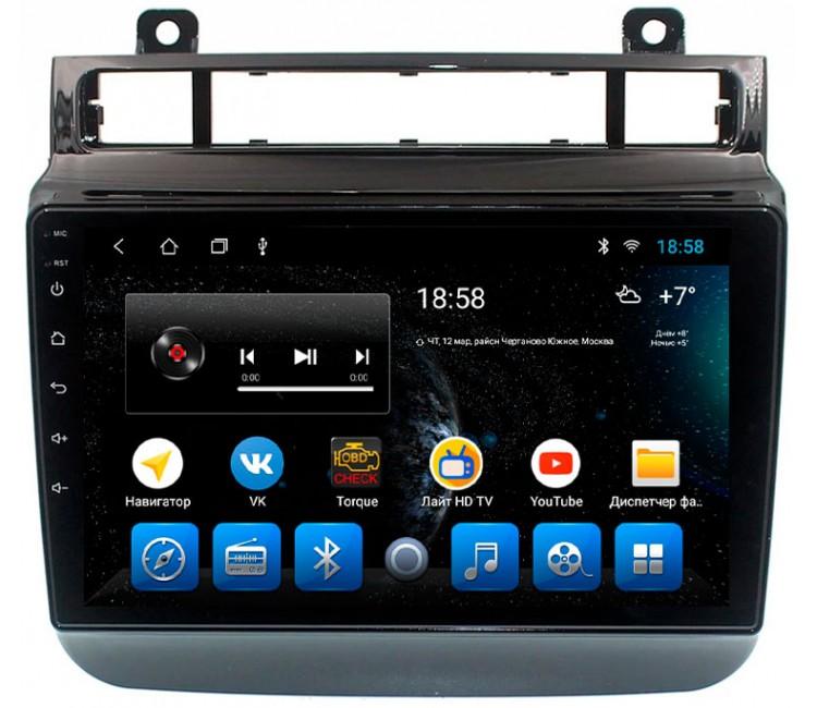 Штатная мультимедийная система на OS Android 8.0.1 для Volkswagen Touareg