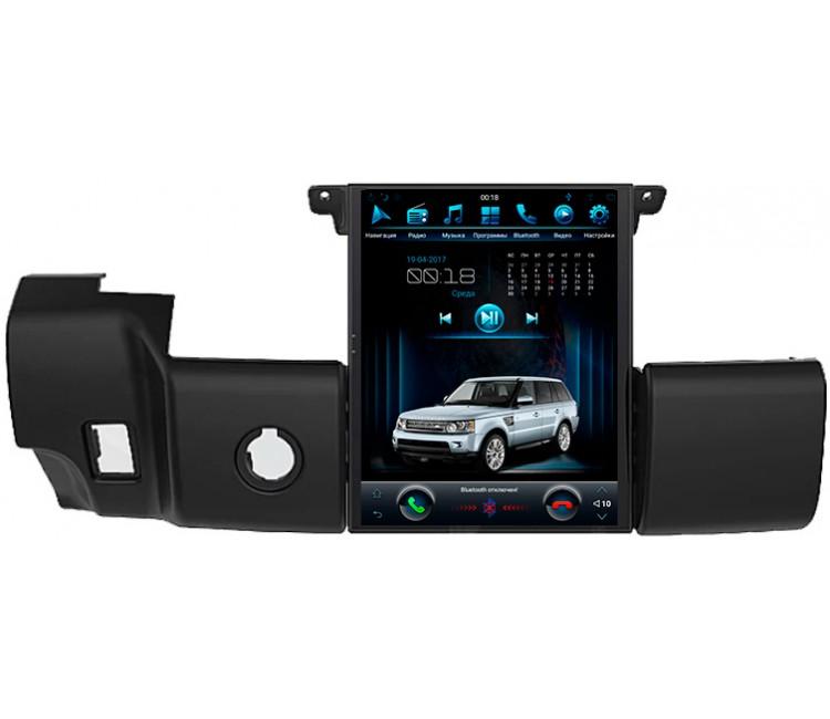 Штатная мультимедийная система в стиле Тесла для Land Rover Range Rover Sport 2009-2013 на OS Android 9.0.1, Super Audio
