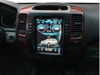 Штатное головное устройство в стиле Tesla для Lexus GX 470 на OS Android 9.0.1, Mankana