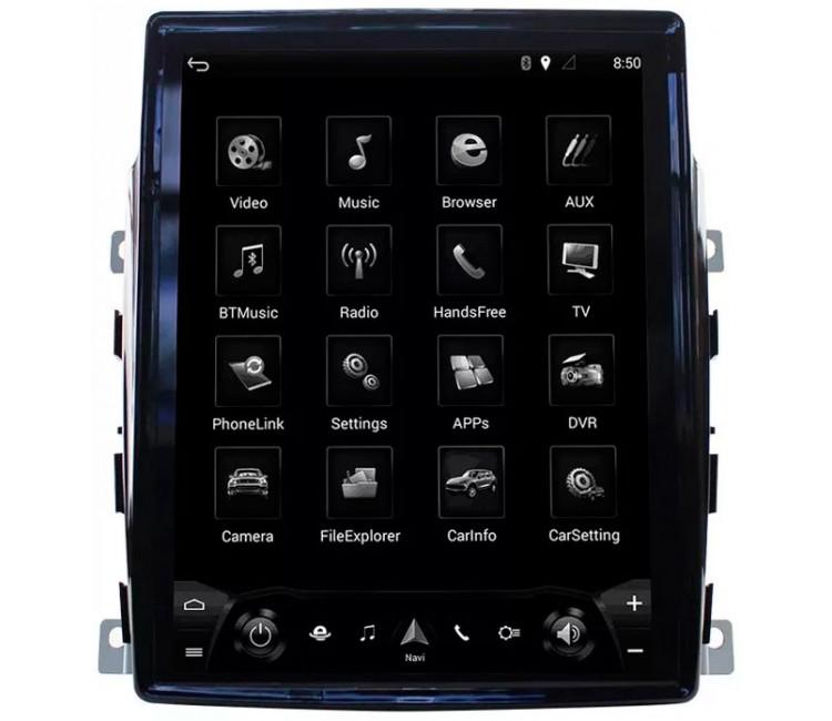 Штатное головное устройство для Porsche Panamera на OS Android 7.1.1
