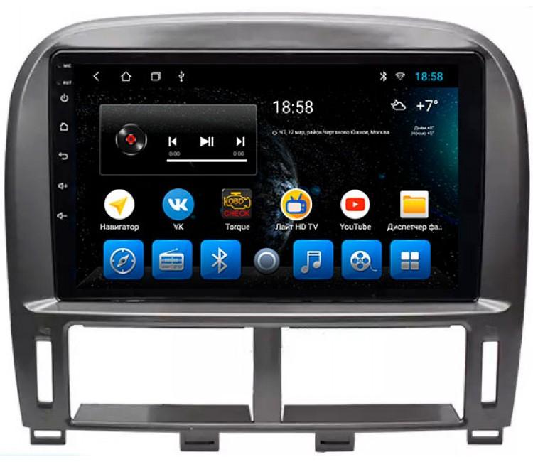 Штатное головное устройство для Lexus LS на OS Android 10.1