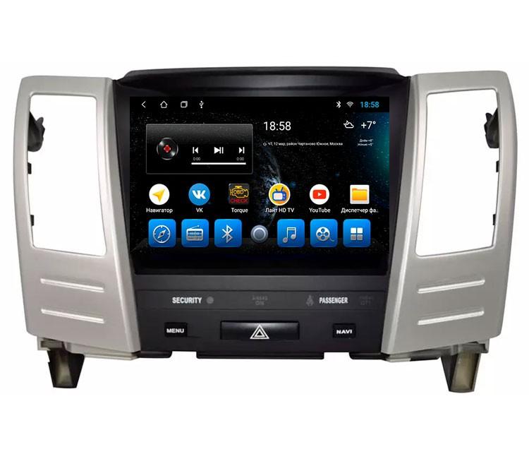 """Штатная мультимедийная система Mankana для Lexus RX300, RX330, RX350 II Экран 9"""""""