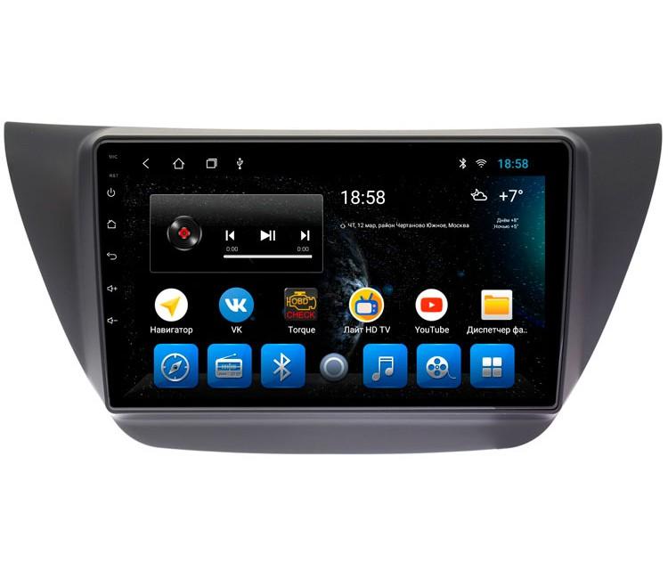 Штатное головное устройство на OS Android 9.0.1 для Mitsubishi Lancer IX