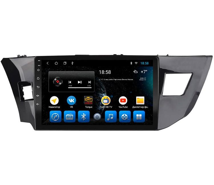 Штатное головное устройство на OS Android 9.0.1 для Toyota Corolla E180