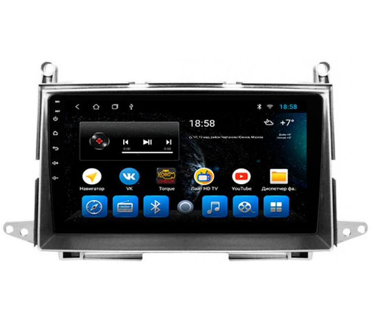 Штатная мультимедийная система на OS Android 10.1 для Toyota Venza