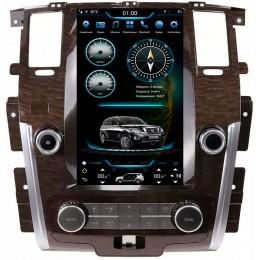 """Штатное головное устройство для Nissan Patrol Y62 Экран 13,6"""""""