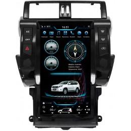 """Штатное головное устройство для Toyota LC Prado 150 2013-2017 Экран 13,6"""""""