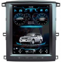 """Штатное головное устройство для Toyota Land Cruser 100 2003-2007 Экран 12,1"""""""