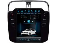 Штатное головное устройство в стиле Тесла для Volkswagen Polo на OS Android 9.0.1